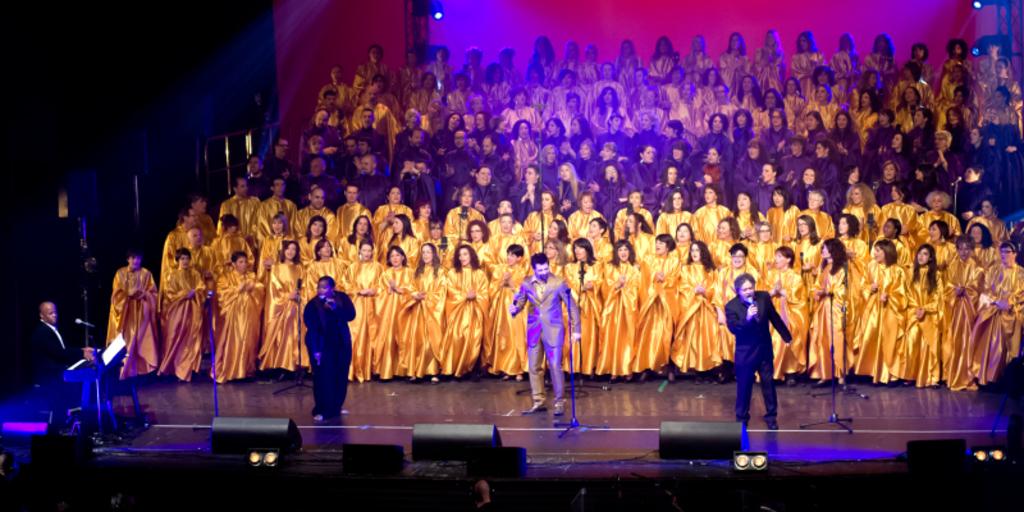 Vieni e prova l'emozione di cantare in un grande coro