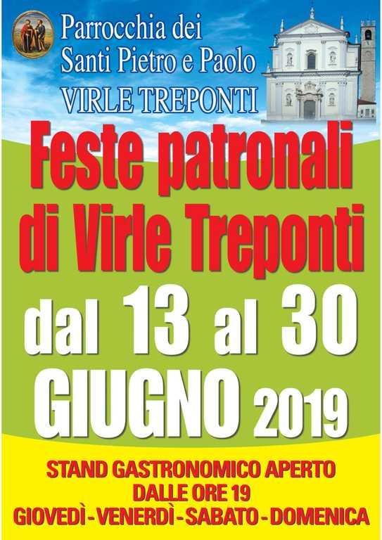 Feste Patronali di Virle 2019