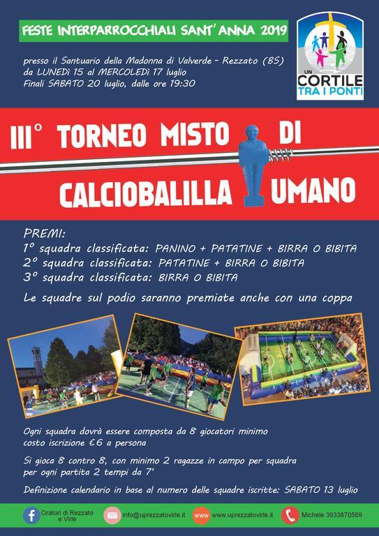 Torneo di Calico Balilla 2019