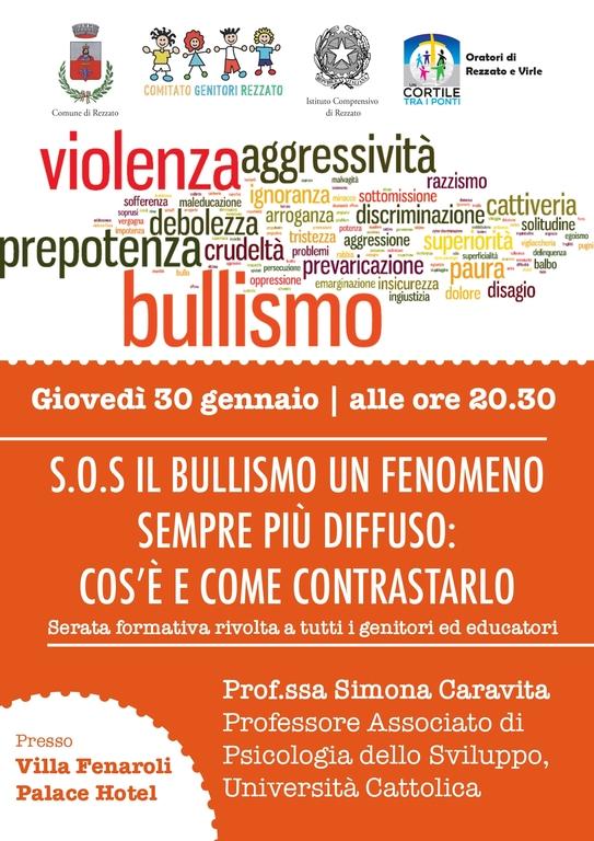incontro SOS BULLISMO