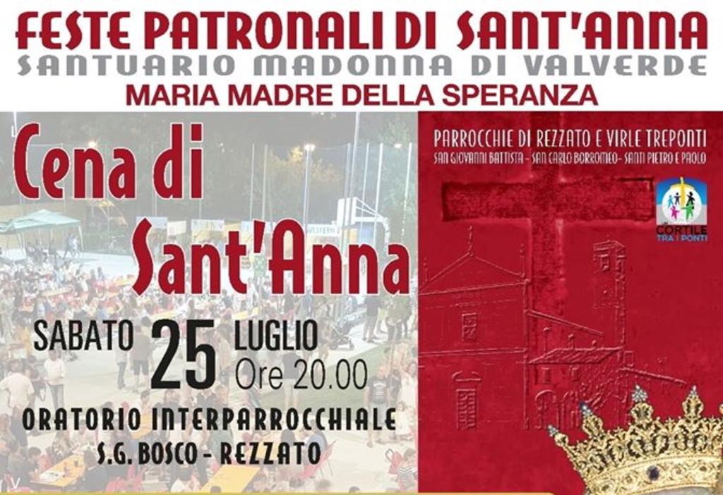 Cena di Sant'anna 2020