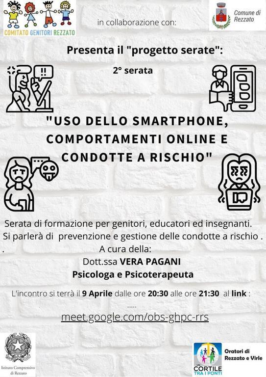 USO DELLO SMARTPHONE, COMPORTAMENTI ONLINE E CONDOTTE A RISCHIO